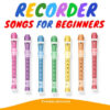 Easy Recorder Songs For Beginners - Cover