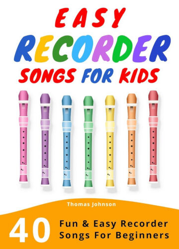 Easy Recorder Songs For Kids - Cover